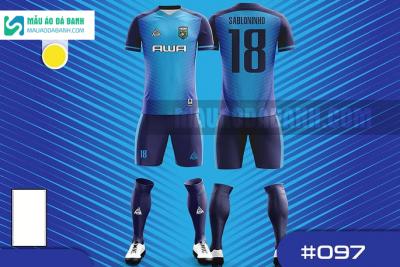 Mẫu áo bóng đá thiết kế chính hãng tại cần thơ MADB97